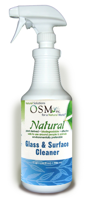 OSM Natural Glass Cleaner 32 oz