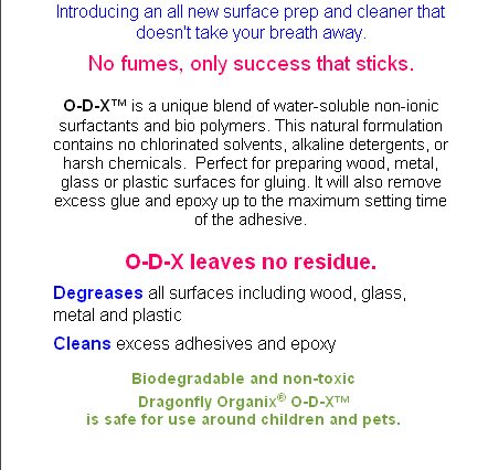 Biodegradable and non-toxic